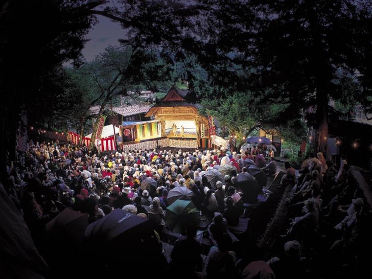 檜枝岐歌舞伎写真