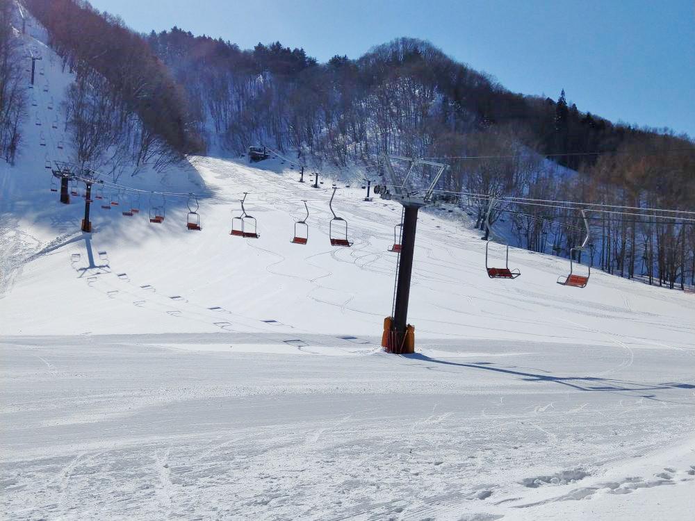 尾瀬檜枝岐温泉スキー場OPEN写真