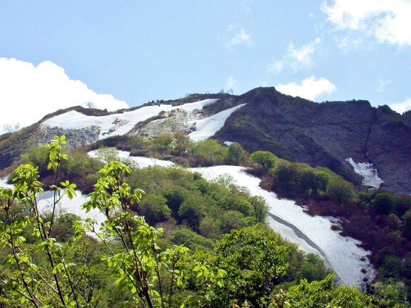 会津朝日岳 山開き写真