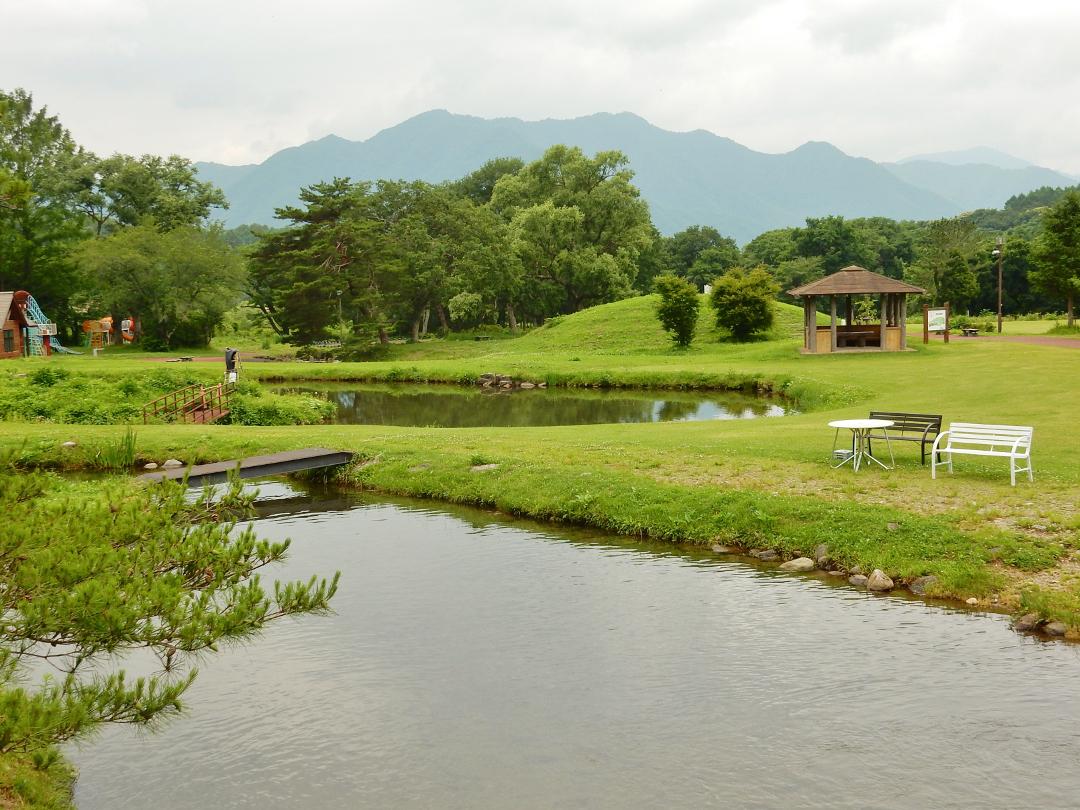 養鱒公園 いこいの広場 写真