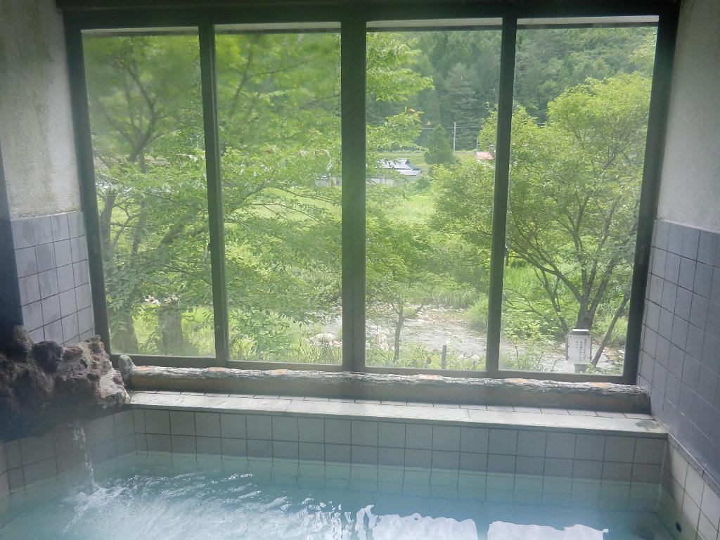 会津高原温泉写真