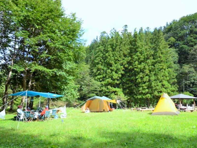久川ふれあい広場キャンプ場写真