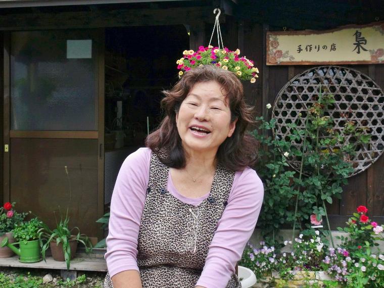落石さんさん写真