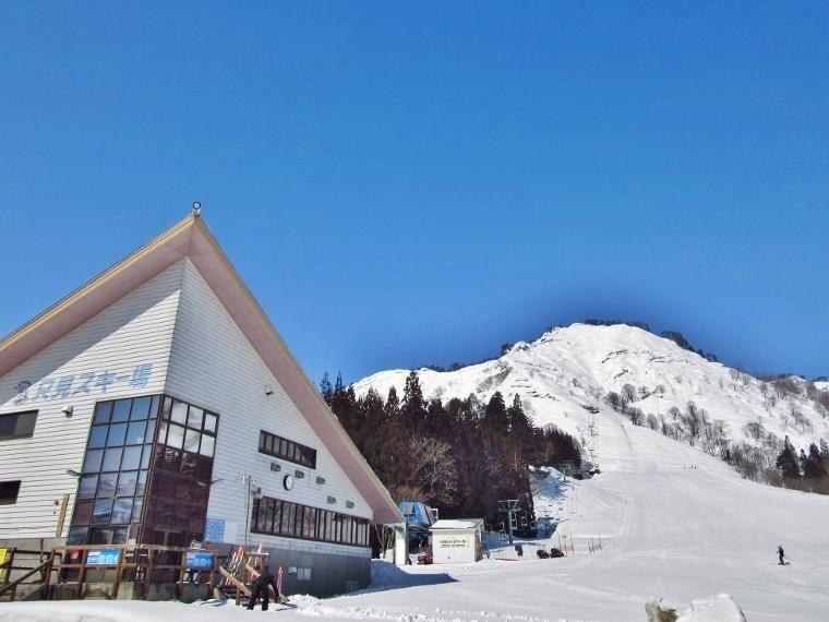 只見スキー場OPEN写真