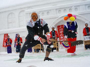 東武トラベル 只見雪まつりツアー