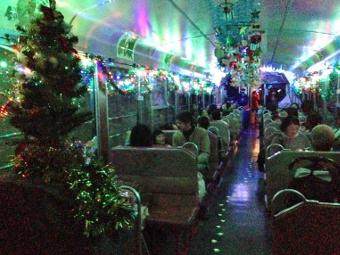 会津鉄道サンタ列車