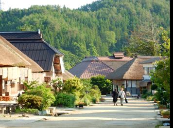 会津バス 鶴ヶ城と大内宿