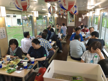 会津鉄道ビール列車