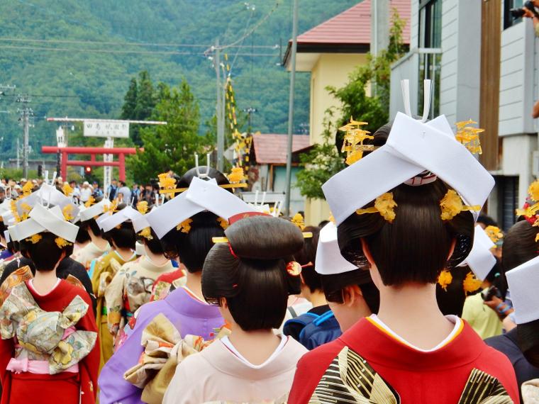 会津田島祇園祭写真
