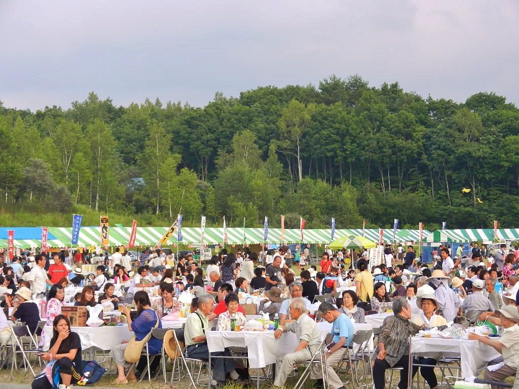 会津高原たていわ夏まつり写真
