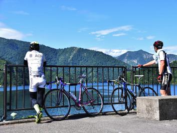 只見線サイクリング