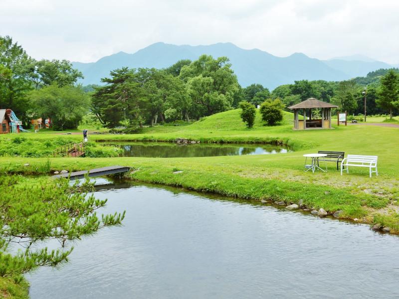養鱒公園 いこいの広場写真
